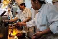 kucharze w pracy