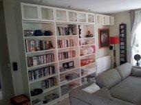 biblioteczka w domu